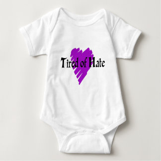 Tired of Hate Baby Bodysuit