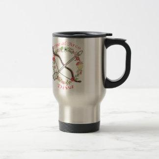 Tiro Al Arco Diva Coffee Mugs