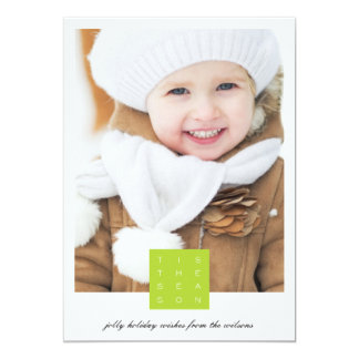 Tis the Season Holiday Photo Card