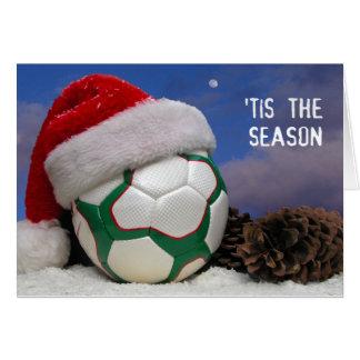 Tis The (Soccer) Season Card