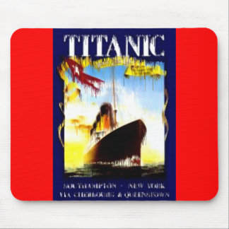 Titanic was an Olympic-class passenger liner Mouse Pad