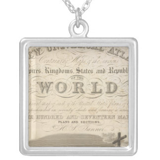 Title Page New Universal Atlas Silver Plated Necklace