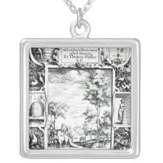 Title-page to 'A Pisgah-sight of Palestine' Silver Plated Necklace