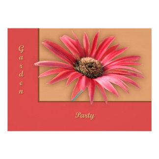 Titled Daisy Personalized Invites