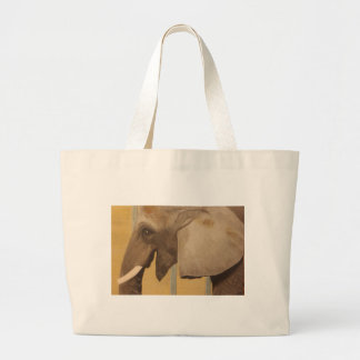 Titus painting by Patrick Kelly Large Tote Bag