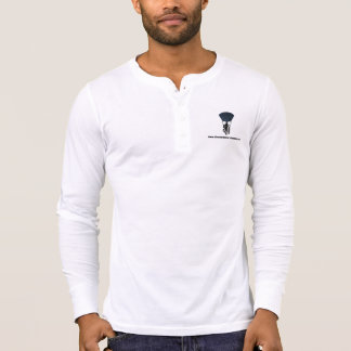 TMPW Men's Canvas Henley Long Sleeve Shirt Logo