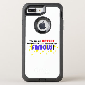 To All My Haters! OtterBox Defender iPhone 7 Plus Case