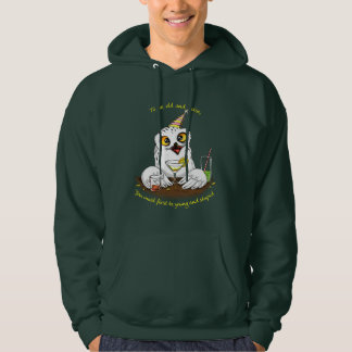 To be old and wise Owl Hoodie