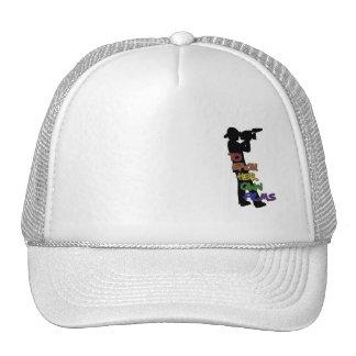 To Each Her Own Film Grey Trucker Hat Man Logo Sm