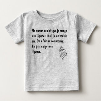 To eat its vegetables baby T-Shirt