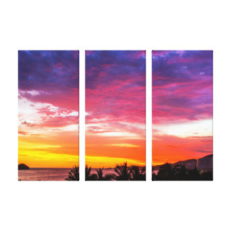 To get late in Ixtapa Canvas Print