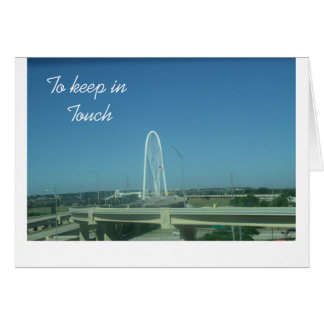 To keep in Touch Greeting Card