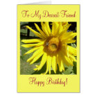 To My Dearest Friend, Happy Birthday! Card