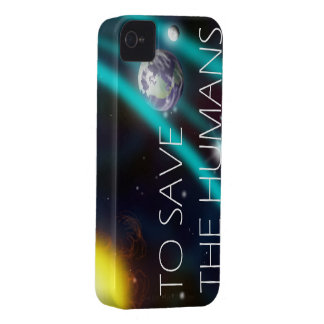 TO SAVE THE HUMANS iPhone 4 skin iPhone 4 Case-Mate Cases