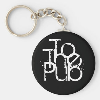 To The Pub Keyring Keychains