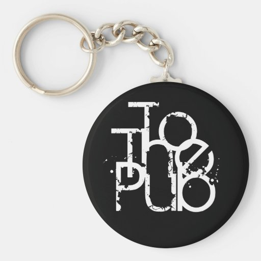 To The Pub Keyring Keychains