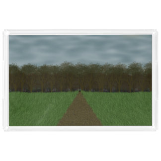 To The Woods Acrylic Tray