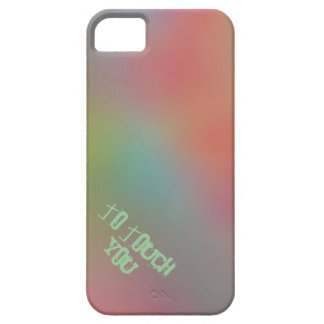 """To Touch You"" abstract case for iPhone 5"