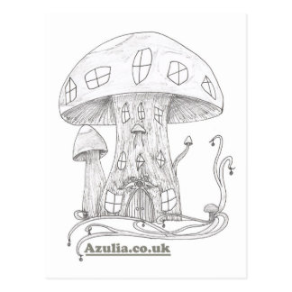 Toadstool Castle Postcard