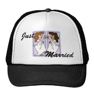 Toast this bride mesh hats