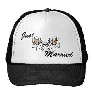Toast to the brides trucker hat