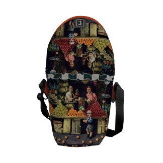 Toddler and Oranges Messenger Bag