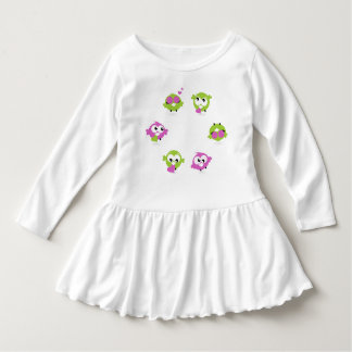 Toddler design Dress with birds