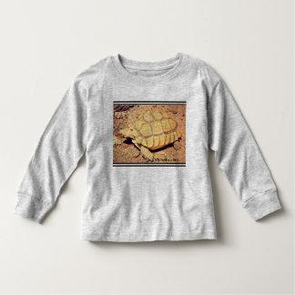 Toddler Long Sleeve Tee Shirt - Desert Tortoise
