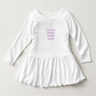 Toddler Ruffle Dress-Dance Dress