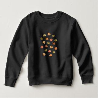 Toddler sweatshirt with pumpkins