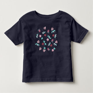 Toddler T-shirt with clover flowers