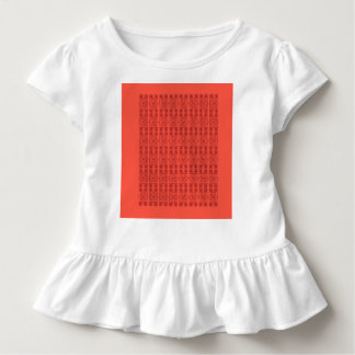 Toddler tee with design arabic