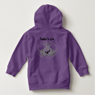 Toddler's Rule Clothing Line by Purple Duchess Hoodie