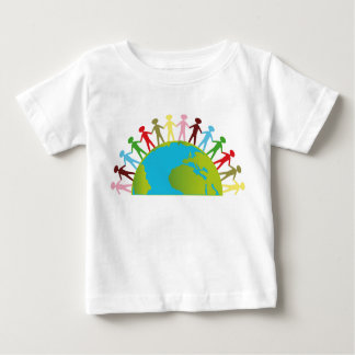 Together we can change the world t-shirt for kids
