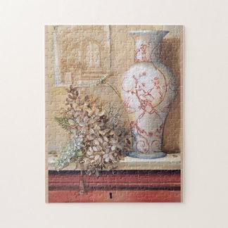 Toile Vase Still Life Puzzle