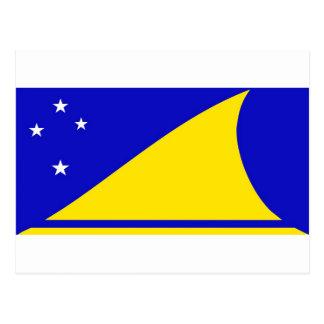 Tokelau flag postcard