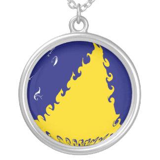 Tokelau Ganrly Flag Custom Necklace