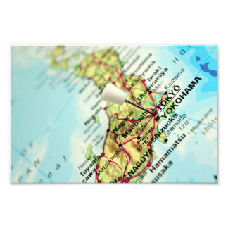 Tokyo Map Photo