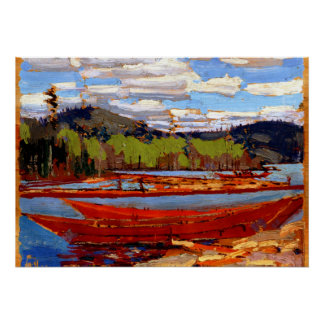 Tom Thomson - Bateaux Poster
