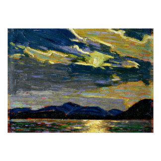 Tom Thomson - Hot Summer Moonlight Poster