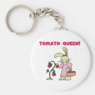 Tomato Queen Key Ring