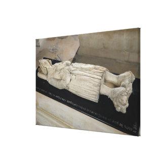 Tomb of Charles I  of Anjou Canvas Print