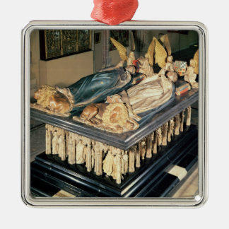 Tomb of John the Fearless  and Margaret of Christmas Ornament