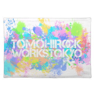 TOMOHIROCKS-WORKS luncheon mat
