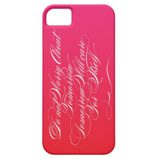 Tomorrow Care For Itself (Red/Magenta) Barely There iPhone 5 Case