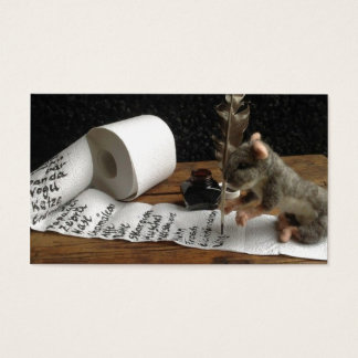 ton of DO cunning mouse.jpg Business Card