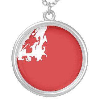 Tonga Gnarly Flag Custom Necklace