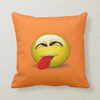 Tongue Out Cushion