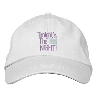 TONIGHT cap Embroidered Baseball Caps