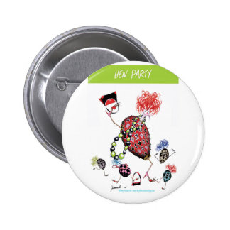 tony fernandes, hen party 6 cm round badge